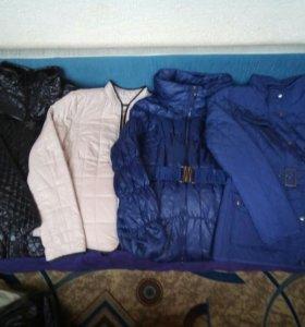 Куртки 48-50 размеров