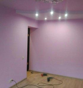 Ремонт квартир, укладка плиткой, ремонт пола