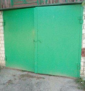 Створки гаражных ворот
