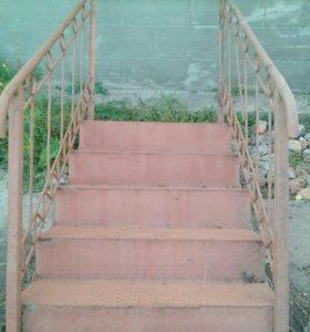 Лестница!