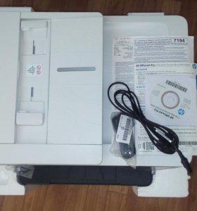 Мфу hpofficejet Pro 7740-Принтер/Сканер/Копир/Факc