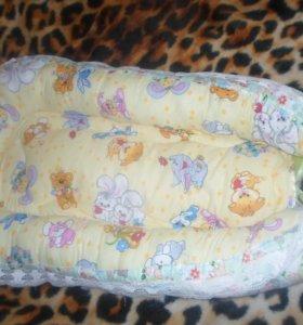 Гнездышко для малыша и бортики в кроватку