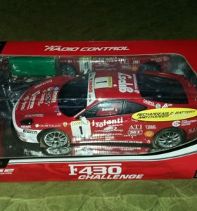 Машинка на р/у Ferrari F430 challenge