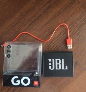 Колонка JBL GO.