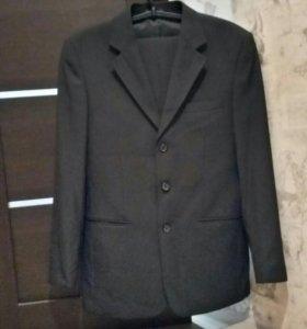 Мужской костюм (черный)
