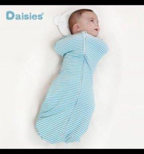 Конверт пеленание спальный мешок новорожденный