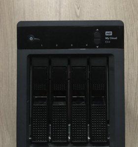 Сетевое хранилище NAS Wd My Cloud EX4