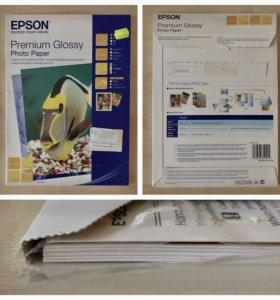 Фотобумага Epson и Lomond