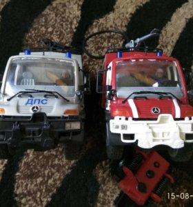Пожарная машина Милицейская