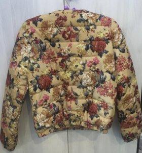 Продам любимую курточку, тепленькая 44размер