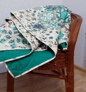 Уютное лоскутное одеяло ручной работы