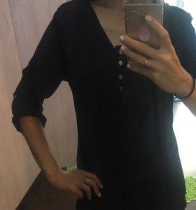 Блузка темно-синяя 42-44