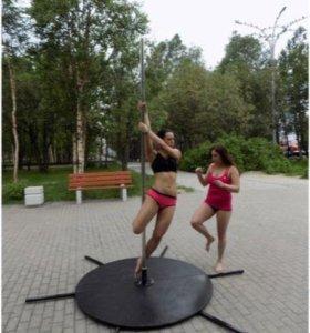 Мобильный Подиум-Сцена для танцев и спорта