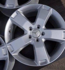 Диски Mercedes Audi WV R18 5x112 Без пробега по РФ