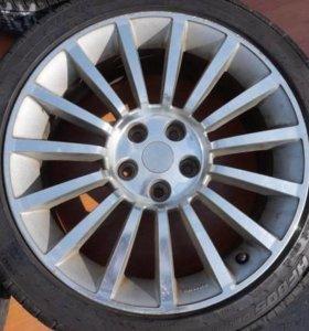 Оригинал! Диски Nissan Autech R18 5x114.3 Б/П
