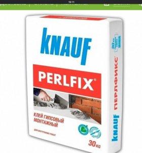 Perlfix клей гипсовый монтажный