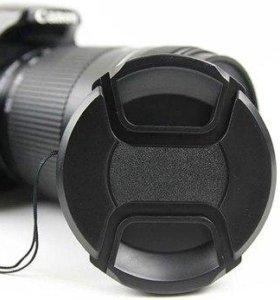 Крышка для объектива универсальная со шнурком
