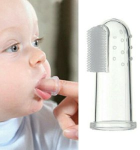 🆕 Новая детская силиконовая зубная щетка