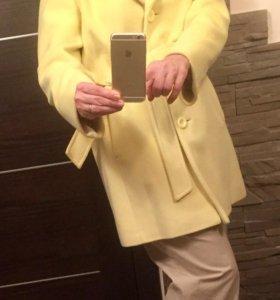 Пальто демисезонное шерсть -кашемир