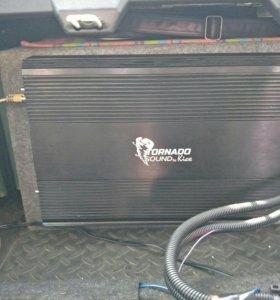 Продам мощный моноблок kicx tornado 3000.1