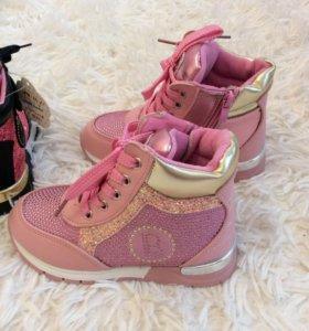 Новые ботинки 28р
