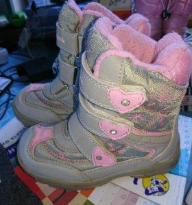 Мембранные ботинки Котофей для девочки