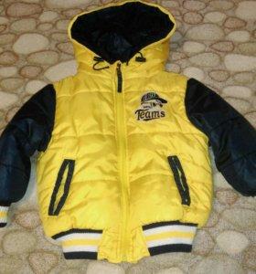 Куртка осенняя р.98