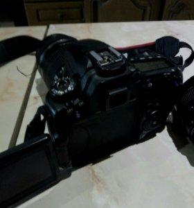 Зеркальный фотоаппарат Canon eos 60d объектив и