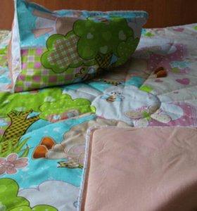 Стёганное и лоскутное одеялко для вашего малыша