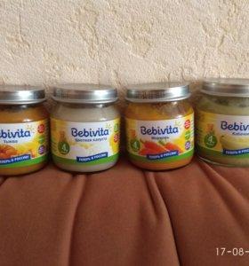 Детское питание Bebivita, каши Белакт