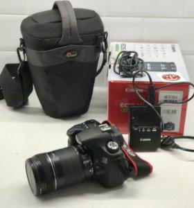 Фотоаппарат Canon EOS 60D + объектив
