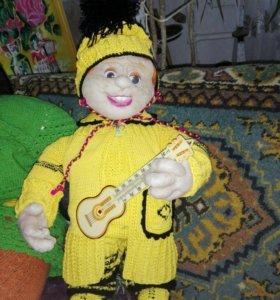 Каркасная кукла на синтепоне