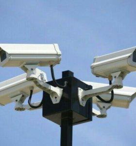 Видеонаболюдение, охрана, безопасность.
