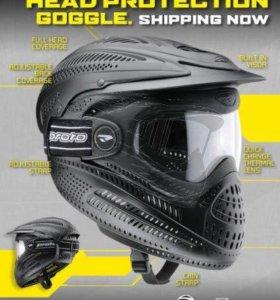 Маска Proto Goggle Full Cover Std, черная