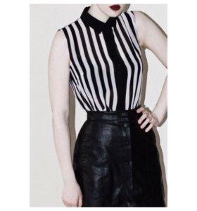 Concept Club блуза полупрозрачная в полоску