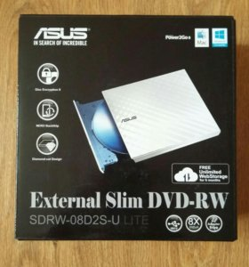 Внешний привод DVD-RW ASUS