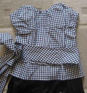 Комплект Sinequanone блузка -корсет и брюки