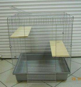Клетка для шиншилл и других крупных грызунов