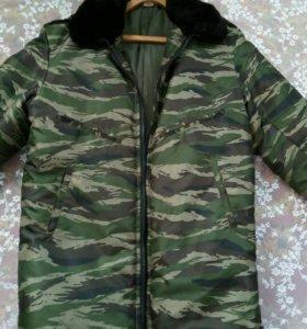 Теплая куртка 48-50