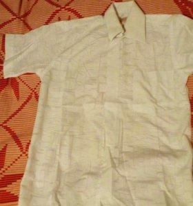 Сорочка белая 134 рост
