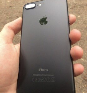 iPhone 7 Plus + оригинальный Leather Case