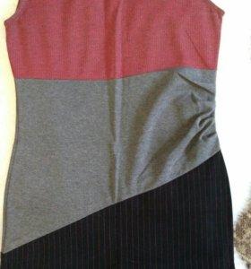 Платье в деловом стиле, 44-46 р.