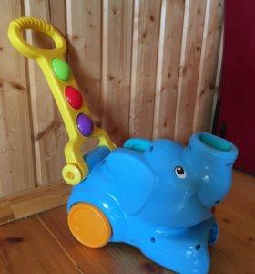 Слон каталка Playskool