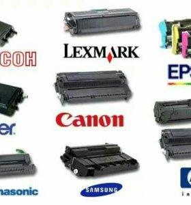 Ремонт лазерных и струйных принтеров, заправка
