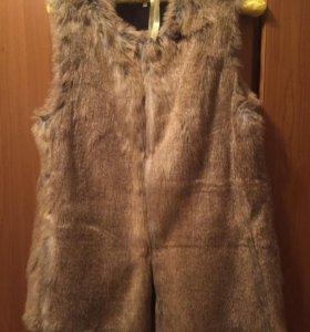 ❗️Новая меховая жилетка Zara