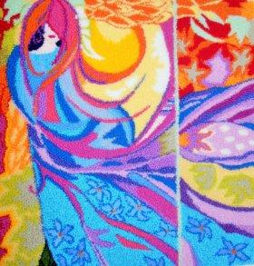 Картины в технике ковровая вышивка