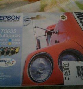 Картриджи на принтер Epson T 0635