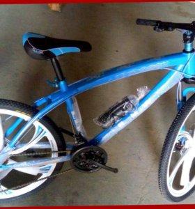 Велосипеды БМВ на спицах и литых дисках