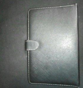 "Чехол-книжка с клавиатурой на планшет 7"""