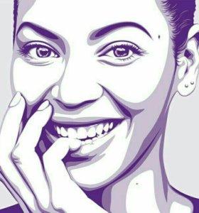 Pop art портрет маслом на холсте, по вашему фото